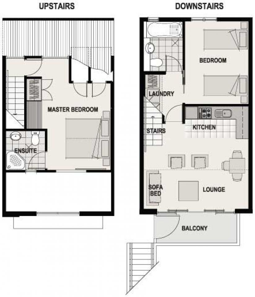 Two Bed Balcony » Garden Court Suites And Apartments